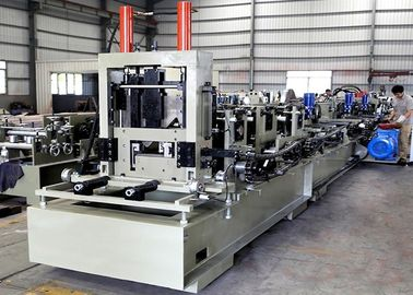 High Speed CZ Purlin Roll Forming Machine  , Steel Channel Profile Roll Former