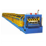 China Dovetail Style Metal Floor Decking Roll Making Machine for Yx54-175-700 Profile factory