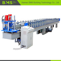China High Speed T Profile Rolling Shutter Door Frame Making Machine 12-15m/Min factory