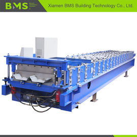 Hidden Wall Roof Panel Roll Forming Machine , Steel Cold Roll Forming Machine