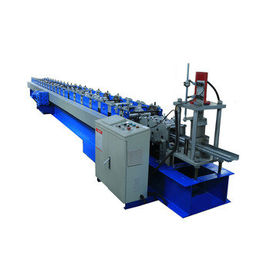 China Color Material Roller Shutter Door Roll Forming Machine For Roller Shutter Guide factory