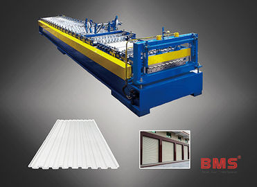China Austenite Rolling Gate Gutter Machine , Metal Rolling Equipment Long Life factory