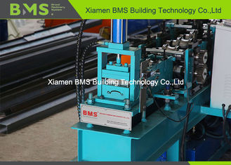 China Rolling Shutter Strip Automatic Roll Forming Machine Forming Speed 0-18m / Min Shaft 40Cr factory