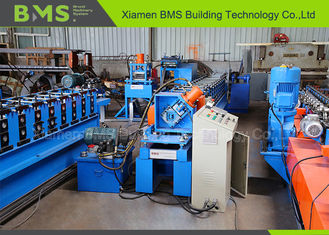 PLC Frequency Control Metal Stud And Track Roll Forming Machine With GCr15