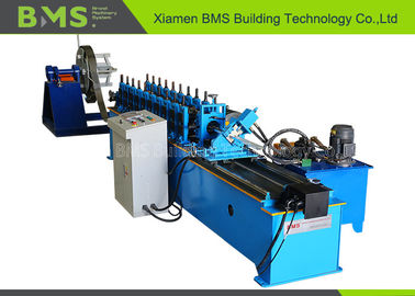 5.5KW C Purlin Steel Keel Metal Stud Making Machine With PLC For Construction