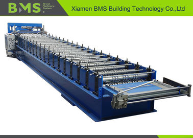 Fast Speed Customize Metal Roofing Sheet Making Machine With Siemens PLC System