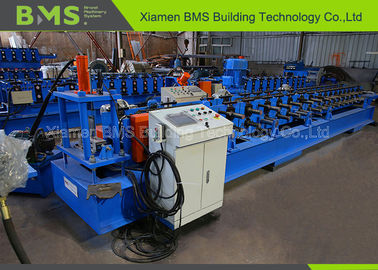 China C Shelf Beam Racking Roll Forming Machine With PLC Cabinet Passed CE And ISO9001 factory