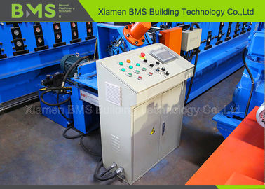 China Supermarket Shelf Automatic Roll Forming Machine For C Profile Beam With Punching System factory