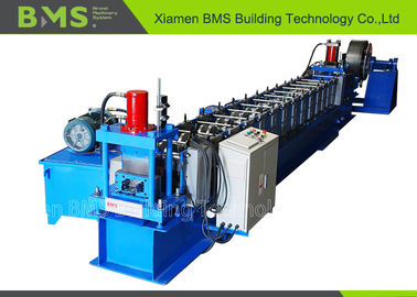 China Customered Steel Upright Roll Forming Machine With Automatic Cutting System factory