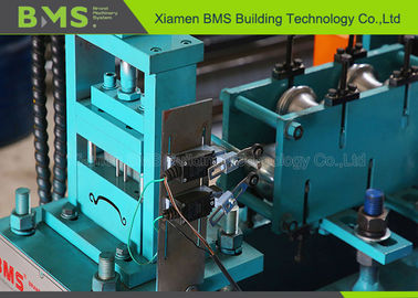 China Full Automatic Roller Shutter Door Roll Forming Machine With Hydraulic Cutter factory
