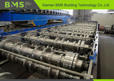 China BMS Floor Deck Roll Forming Machine World Bex For Industry Metal Floor Decking factory