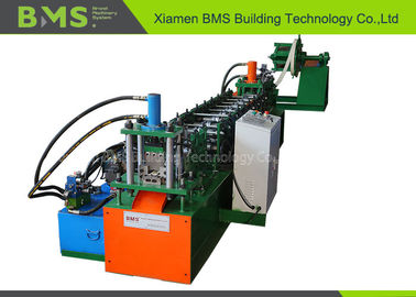 China Fast Shelf Support Keel Racking Roll Forming Machine For Z Beam Profile factory