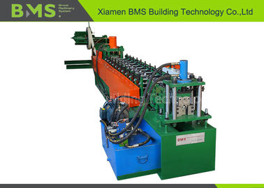 China Customer L Beam Racking Roll Forming Machine With Automatic PLC System factory