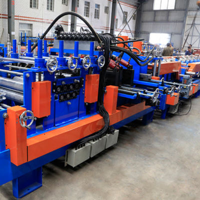 Shaft 80mm Thickness 1.5 3.5mm C Purlin Roll Forming Machine