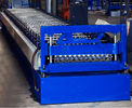 China Colored Steel Corrugated Roof Roll Forming Machine High Tensile Thin Barrel factory