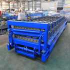 Industrial Double Layer Roof Panel Roll Forming Machine High Efficiency