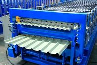 China 12-15m/Min Double Layer Roll Forming Machine , Metal Roofing Panel Roll Former factory