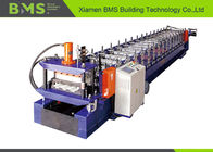 No Nail Wall Panel Roll Forming Machine , Low Noise Cold Roll Forming Machine