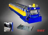 China CE Certification Metal Deck Roll Forming Machine YX50-460 Type For Galvanized Steel factory