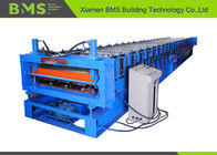 China Roof And Corrugated Panel Double Layer Roll Forming Machine For 1219mm Width factory