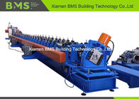 China Servo Motor Drive Metal Stud And Track Roll Forming Machine To Storage Shelf Rack Column factory