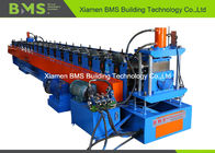 China Gutter Roll Forming Machine for Poultry feeding with Hydraulic Punching factory