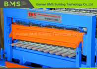 Double Layer Roofing Roll Forming Machine / Production Line For Two Profile