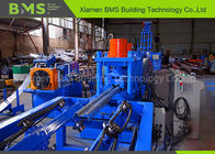 Low Energy Consumption Highway Guardrail Roll Forming Machine With Gcr15 Roller