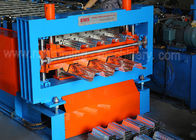 Shaft 95mm Thickness 0.8 0.9mm Steel Deck Roll Forming Machine