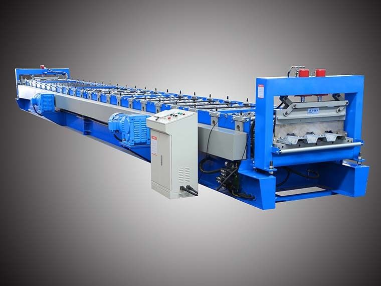 Steel Deck Roll Forming Machine with 90/100mm Shaft Cr12 Tool Steel Cutter