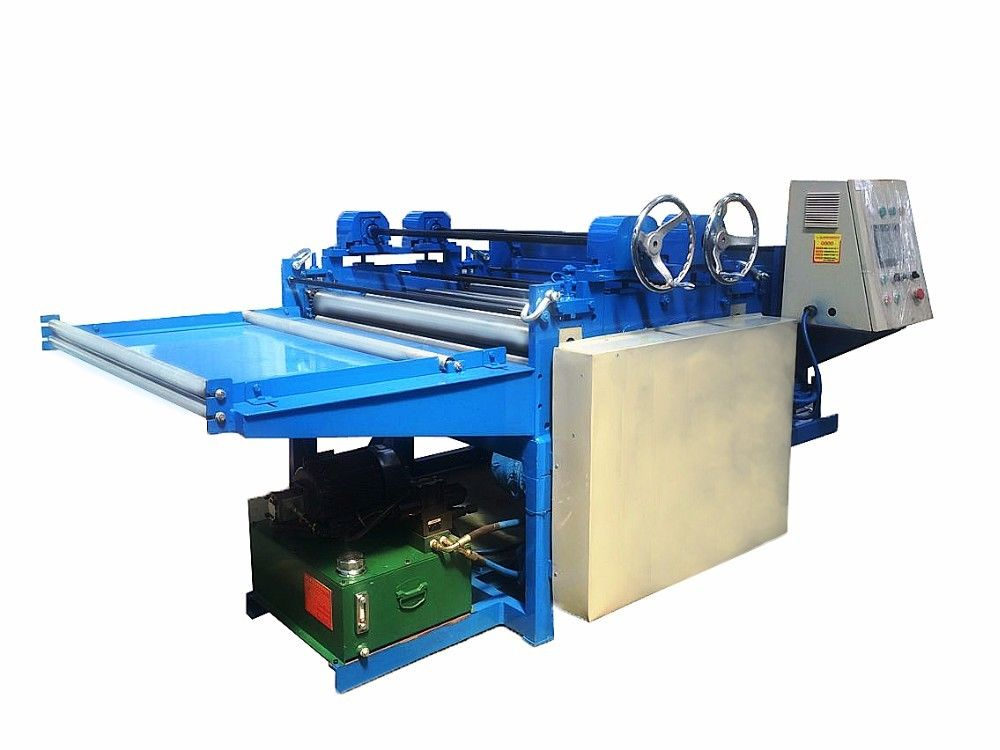 Automatic CNC Cut To Length Machine For Steel Sheet Cutting Safety Operation