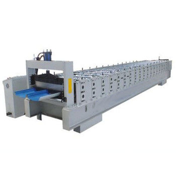 Industrial Joint Hidden Roof Panel Roll Forming Machine 0.4-0.8mm Thickness