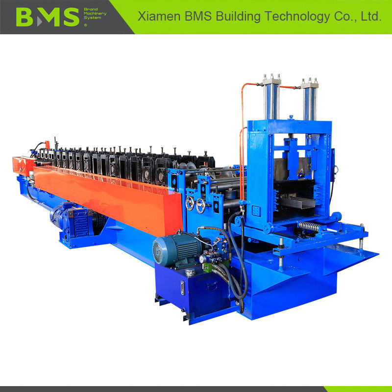 Quick Change Stud And Track Roll Forming Machine , CU Purlin Roll Forming Machine