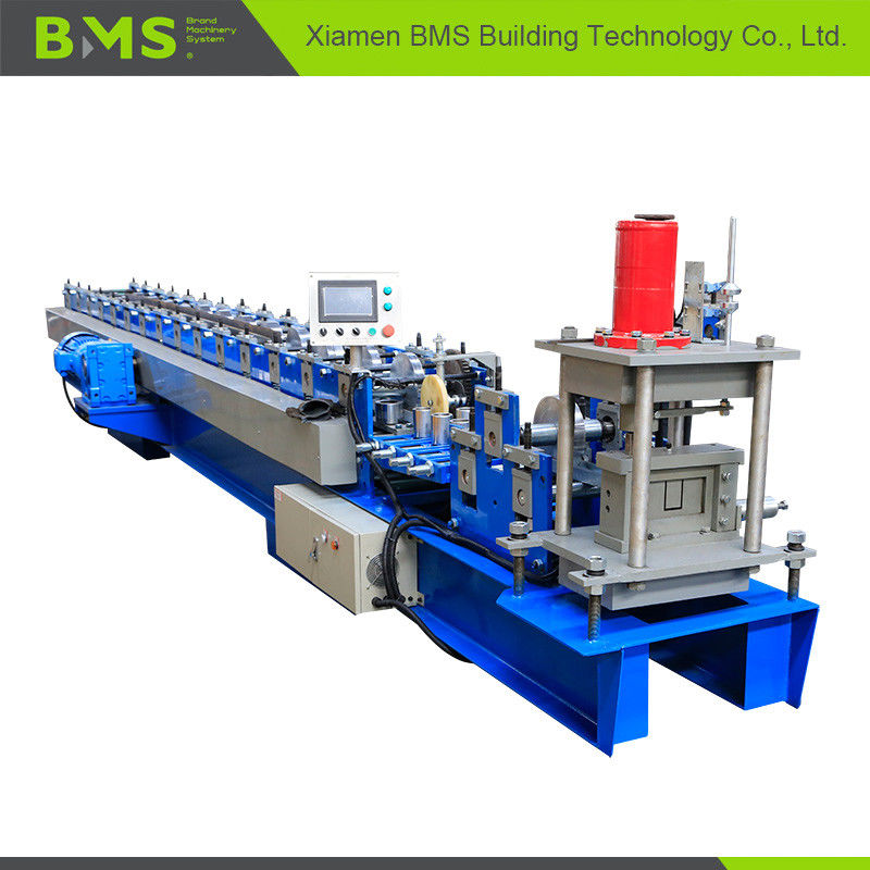 16 Station U Shape Channel Roll Forming Machine With PLC Control System