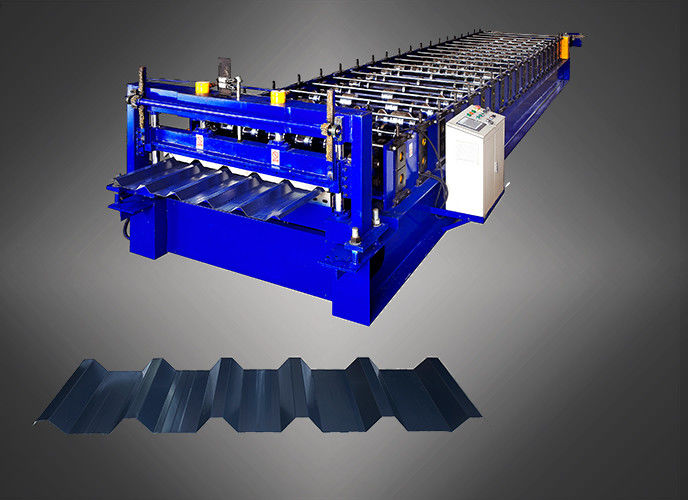 PLC Touch Screen Metal Roofing Sheet Making Machine With Warranty 2 Years supplier