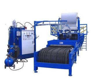 China Low Noise PU Roll Foaming Machine , Metal Roof Panel Cold Roll Forming Machine factory