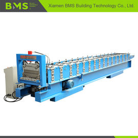 China Joint Hidden Roof Wall Panel Cold Roll Forming Machine 0.4-0.8m Thickness factory