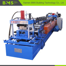 China Interchangeable Sheet Cold CZ Purlin Roll Forming Machine High Speed Automatic factory