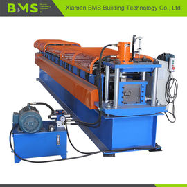 Building Material C Section Roll Forming Machine , Purlin Cold Roll Former