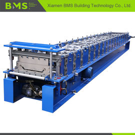 Klip Lok Roof Panel Roll Forming Machine 12-15m/min for Building Material
