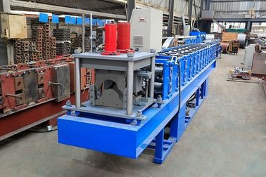 0.3-0.8mm Thickness Ridge Cap Roll Forming Machine High Working Efficiency