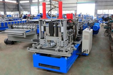 China Highly Efficient Steel Profile Stud And Track Roll Forming Machine 18 Station factory