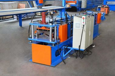 4.5T Ridge Cap Roll Forming Machine With Mold Steel Cr12 Post Cutter