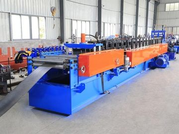 12 Station Metal Stud And Track Roll Forming Machine With Patented Universal Cutter