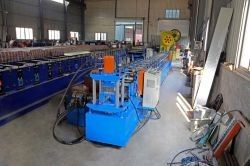 China Galvanized Sheet Panel Solar Bracket Roll Forming Machine High Efficiency CE ISO factory