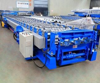 Re-Cycle Use Metal Floor Deck Roll Forming Machine Hydraulic Drive 37kw