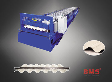 MS35-130-780 Corrugated Roll Forming Machine For Steel Panel Roll Making
