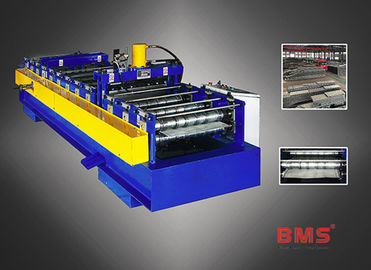Steel Bar Truss Plate Bottom Floor Deck Roll Forming Machine MA600A Type