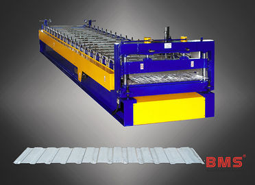 China MS8-98-1176 Type Wall Sheet Roll Forming Machine Metal Roof Panel Machine factory