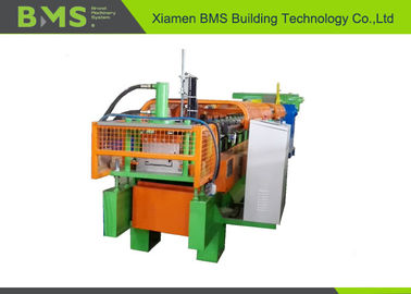 China Durable Steel Wall Cold Roll Forming Machine Cr 12Mov Cutting Blade Material factory